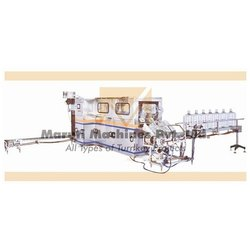 Fully Automatic Jar Washing Filling Capping Machine