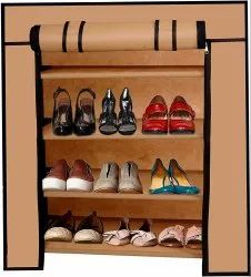Magna Homewares 4 Layers Smart Shoe Rack with Dustproof Cover Closet Shoe Storage Cabinet Organizer