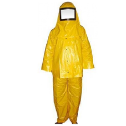 PVC Chemical Suit.