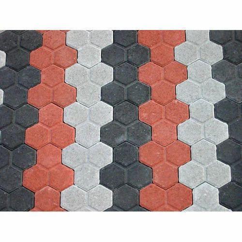 Concrete Modern Interlocking Tiles