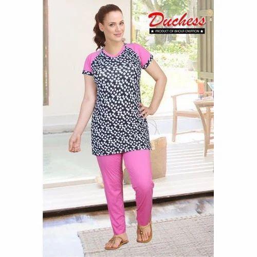 00aa78562 Designer Ladies Night Suit