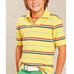 Boys Collar T Shirt