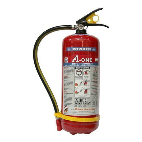 Mild Steel A B C Dry Powder Type 6kg ABC Fire Extinguisher, For Industrial, Capacity: 6 kg