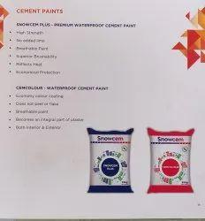 Snowcem Plus Waterproof Cement Paint 25 Kg, Packaging Type: Bags, Brush