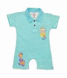 Baby Boy Stylish Cartoon Printed Rompers