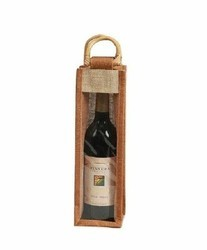 RB023 Jute Wine Bag