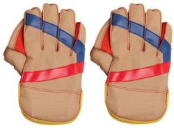 Club Wicket Keeping Gloves Wicket Keeping Gloves (Free Size, Multicolor)