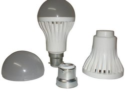 Plastic LED Bulb Body (China Type), Shape: Round
