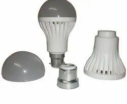 Plastic LED Bulb Body (China Type), Shape: Round, Model: Round