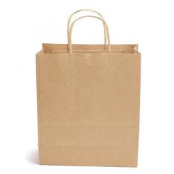 Brown Plain Paper Bag, Capacity: 1 - 5 Kg