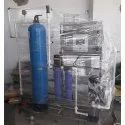 Frp 200 Lph Industrial Reverse Osmosis Plant, Automation Grade: Semi-automatic