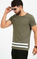 Olive Long T Shirt