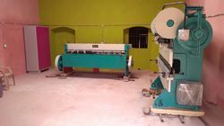Mechanical Plate Shearing Machine