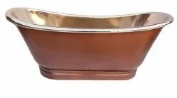 Copper Bathtub Nickel Inside Shining Copper  NJO-7508