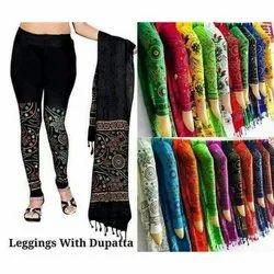 Printed Legging With Dupatta