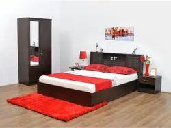 Nilkamal Wooden Monarch Bedroom Set, For Home