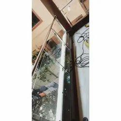 Stainless Steel Balcony Railing Fabrication