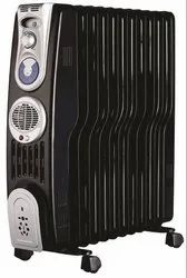 Orient Electric OF0905F-Watt 9-Fins Oil Filled Radiator (Black/Silver) for Home