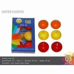 Oval (S) Water Floating Candles
