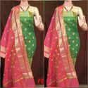 Ladies Designer Banarasi Silk Suit