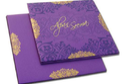 Purple Wedding Cards