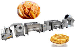 Semi Automatic Potato Chips Making Plant