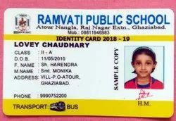 Rectangular School ID Cards, 2-3 gm