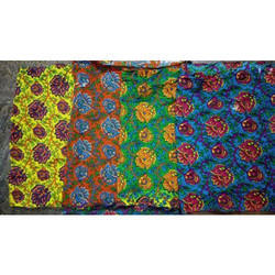 Block Look Printed Cotton Fabric