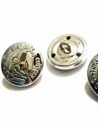 Golden Metal METALLIC BUTTONS, Packaging Type: Box, for Garments