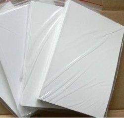 CTI White PVC Card Sheet, Thickness: 0-1 mm