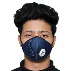 ORILEY D-951 Denim Face Mask Washable Reusable Protective Nose Mouth Cover  (Random Color)