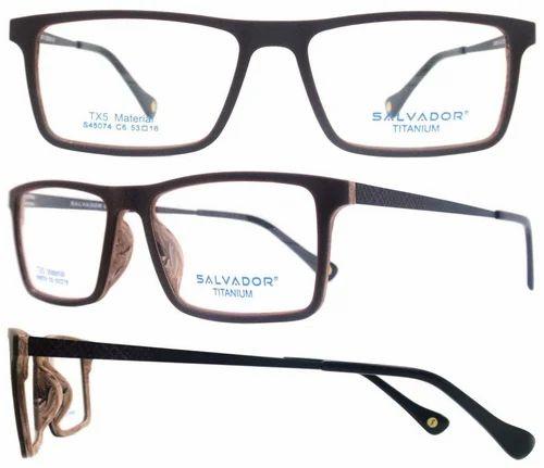 0a8ea2dcad4 Salvador Mens Trendy Tx5 Titanium Spectacle Optical Frame-S45074-c6 ...