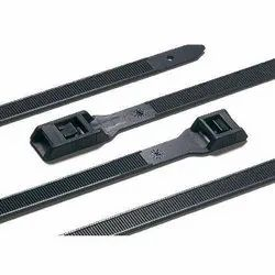 Nylon Black Double Head Cable Tie