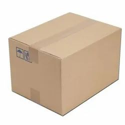 Brown Paper Delivery Corrugated Box
