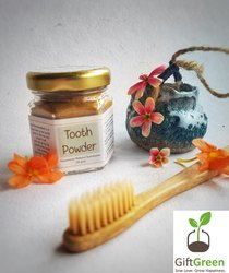 Tooth Powder Hand Made, For Personal, Packaging Size: 20 Grams