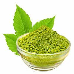 绿色指甲花粉