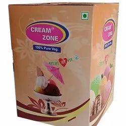 Cream Zone Mix Fruit Ice Cream, Packaging Type: Box