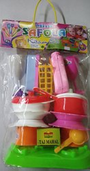 Plastic Kids Kitchen Set