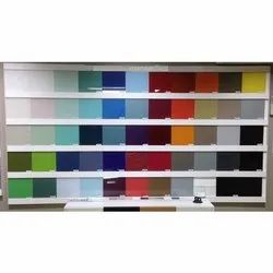 Back Painted Glass Wall Partition