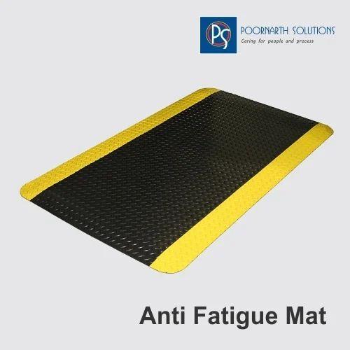 Pvc Bathroom Door Price In Delhi: PVC Black Anti Fatigue Mat, Rs 2500 /piece, Poornarth