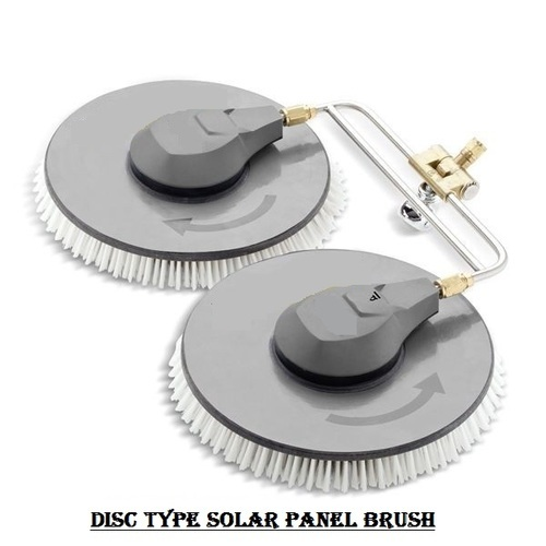 Solar Panel Cleaning Disc Brush Cleaning Id 1355794773