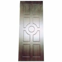 Brown Wood Decorative Flush Doors, Thickness: 30mm