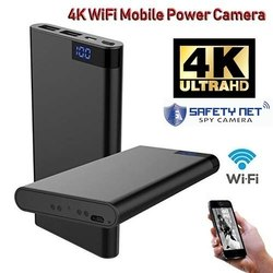 Safetynet 4K WIFI H11 Mobile Power Bank Camera