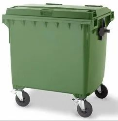 Airsoft 1100 Ltrs Wheel Garbage Dustbin