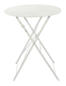 Bistro Outdoor Table Chairs Set-White