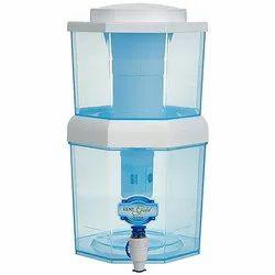ABS塑料非电动台顶部肯特RO净水器,容量:7 L及以下