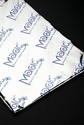 Plain Magic BOPP Bag, Rectangular, Packaging Type: Packet,Box