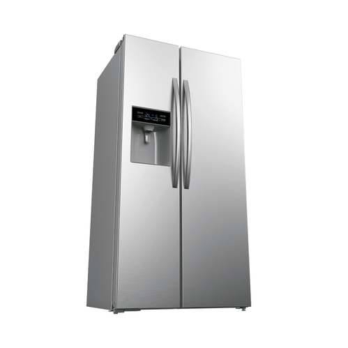 4f791193195 Whirlpool SBS 600 STEEL 568 L Side by Side Refrigerator at Rs 88500 ...