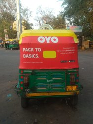 Auto Rickshaw Hood  Manufacturer for Advertising