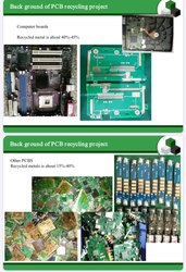 PCB Recycling Machine ( E waste )